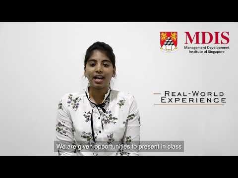 MDIS MBA Testimonial Video - Sravya