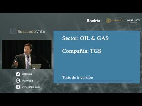 Alejando Muñoz, de Equam , nos presenta su tesis de inversión en acciones de TGS del sector Oil&Gas durante el evento Buscando Valor, organizado por Rankia. En este video analiza sus ventajas competitivas, sus cuentas anuales, su cotización y, por supuesto, la idoneidad de invertir en TGS.