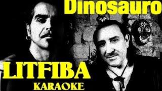 Dinosauro Litfiba karaoke cover Monterosso Andrea con testo base musicale