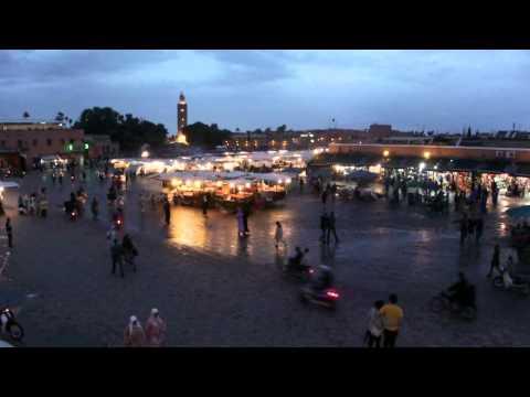 Marrakesh in Morocco