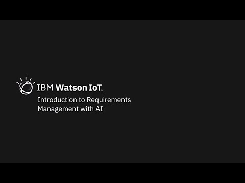 IBM Requirements Management with Watson AI