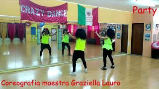 PARTY-Ofenbach,Lack od Afro & Wax Herbal T- COREO di Graziella Lauro