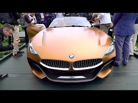 BMW Z4 (2018) Luxury Roadster, Sportier & More Aggressive