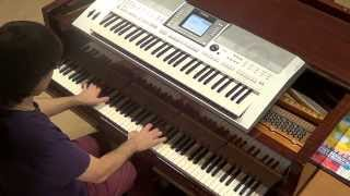 Calvin Harris ft Alesso (Hurts) - Under Control - piano & keyboard synth cover by LIVE DJ FLO