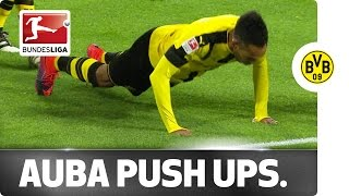 Aubameyang Pushes Dortmund Up the Table and Dedicates Celebration to Rapper