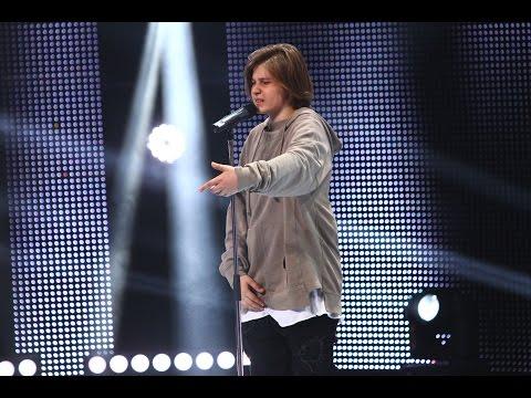 Ştefan Căpraru a.k.a Oscar - medley din melodiile proprii, X Factor