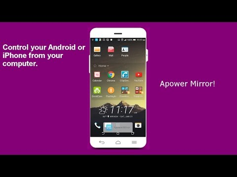 ApowerMirror - Controls Android or iPhone Using PC Instructions