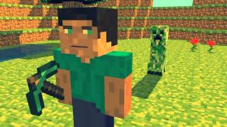 Minecraft intro Cinema 4D (download in description)