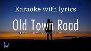 Old Town Road - Karaoke/Instrumental track with lyrics | Remix Karaoke | Lil Nas X, Billy Ray Cyrus