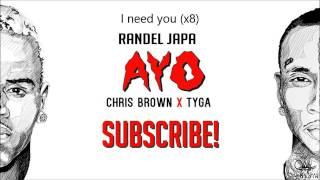 Chris brown ft. ayo tyga