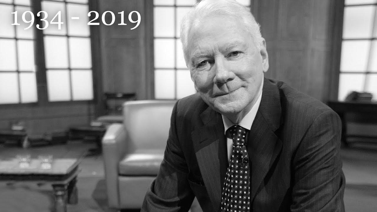 Gay Byrne 1934 – 2019