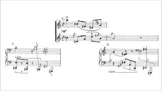 Igor Stravinsky - Epitaphium [With score]