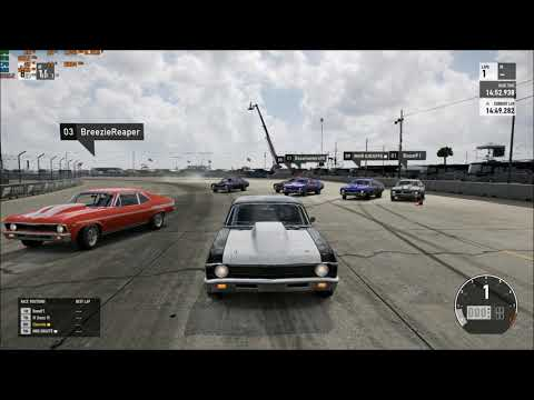 KING OF THE HILL #11 CHEVY NOVA FORZA 7 NO PREP DRAG RACING