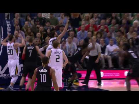 Trevor Ariza Hits a Crazy Circus Shot Against the Jazz l 11.29.16