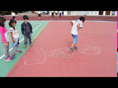 20161121畫格子跳房子2 - YouTube