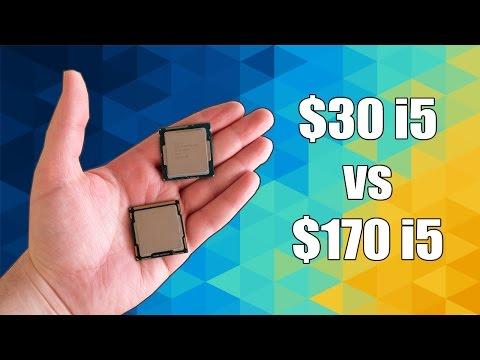 $30 Core i5 Vs $170 Core i5