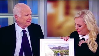 Meghan's Powerful Eulogy For Her Father John McCain | The View width=