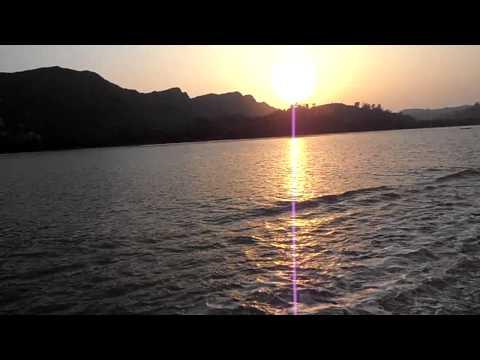 Sunset in the Naf River in Teknaf