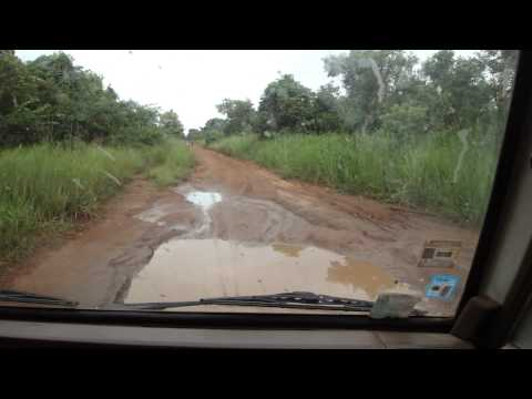 Road from Juba to Yei in South Sudan Africa 13