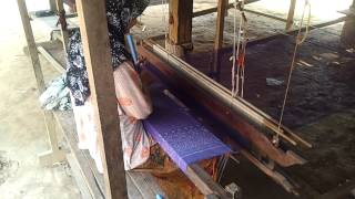 Weaving Silk in Cambodia