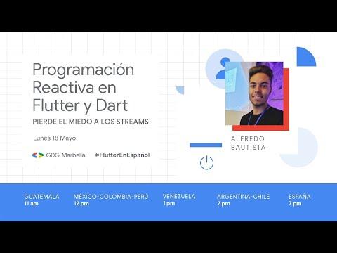 Programación reactiva en Flutter y Dart