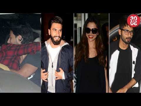 Shruti Haasan's BF Comes To Pick Her At The Airport | Shahid Kapoor Feeling Left Out & Why
