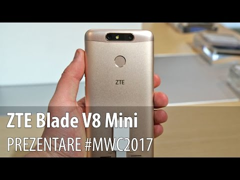 ZTE Blade V8 Mini - Prezentare hands-on