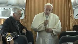 Papież do dziennikarzy: to jest wojna, ale nie religijna