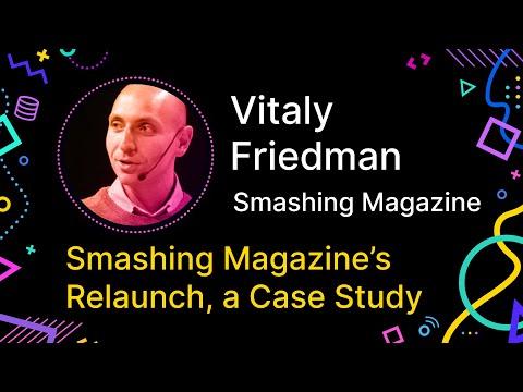 Big Bang Redesign: Smashing Magazine's Relaunch, a Case Study