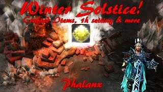 Winter Solstice - FINALLY I reached it! | Crafted Items, 1 Hand setting & more! ☆ Drakensang Online