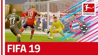 Bayern München vs. Borussia Mönchengladbach - FIFA 19 Prediction with EA Sports