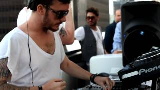 Matt Tolfrey & Inxec for Culprit Sessions @ Standard Rooftop, LA (July '10)
