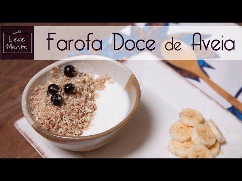 Farofa doce
