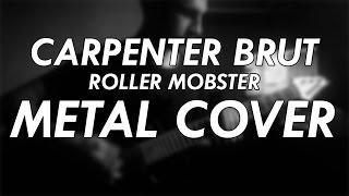 Carpenter Brut - Roller Mobster Metal Cover