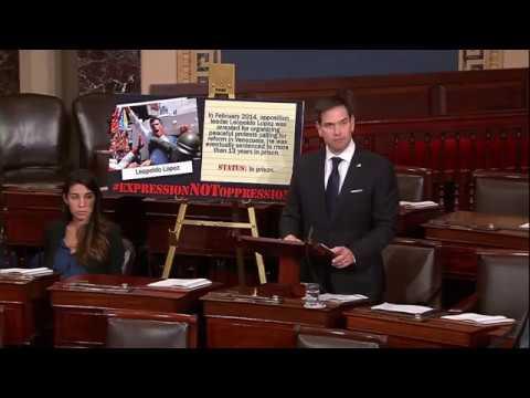 Rubio Speaks on Crisis in Venezuela