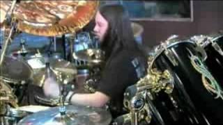 Joey Jordison Playing .Execute.  In Studio