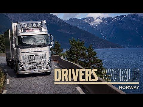 Volvo Trucks - Transporting live fish through the Norwegian fjords ? Driver?s World (EP12)
