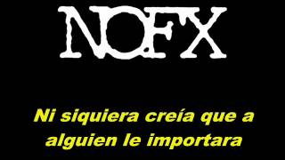 NOFX - She Didn't Lose Her Baby [Sub.Español]