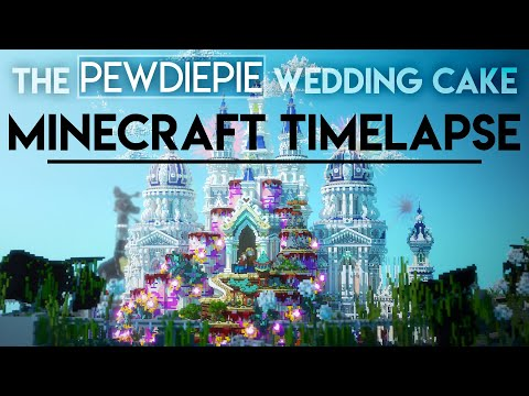 Back in July, we hosted a  @pewdiepie Minecraft event with many amazing  #Minecraft creators.    Here is a  #Pewdiepie Wedding Cake project built by   @newheavenmc's team - https://www.youtube.com/watch?v=rX0VqsONm9g