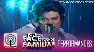 "Your Face Sounds Familiar:  Jed Madela as Elvis Presley - ""Teddy Bear"""