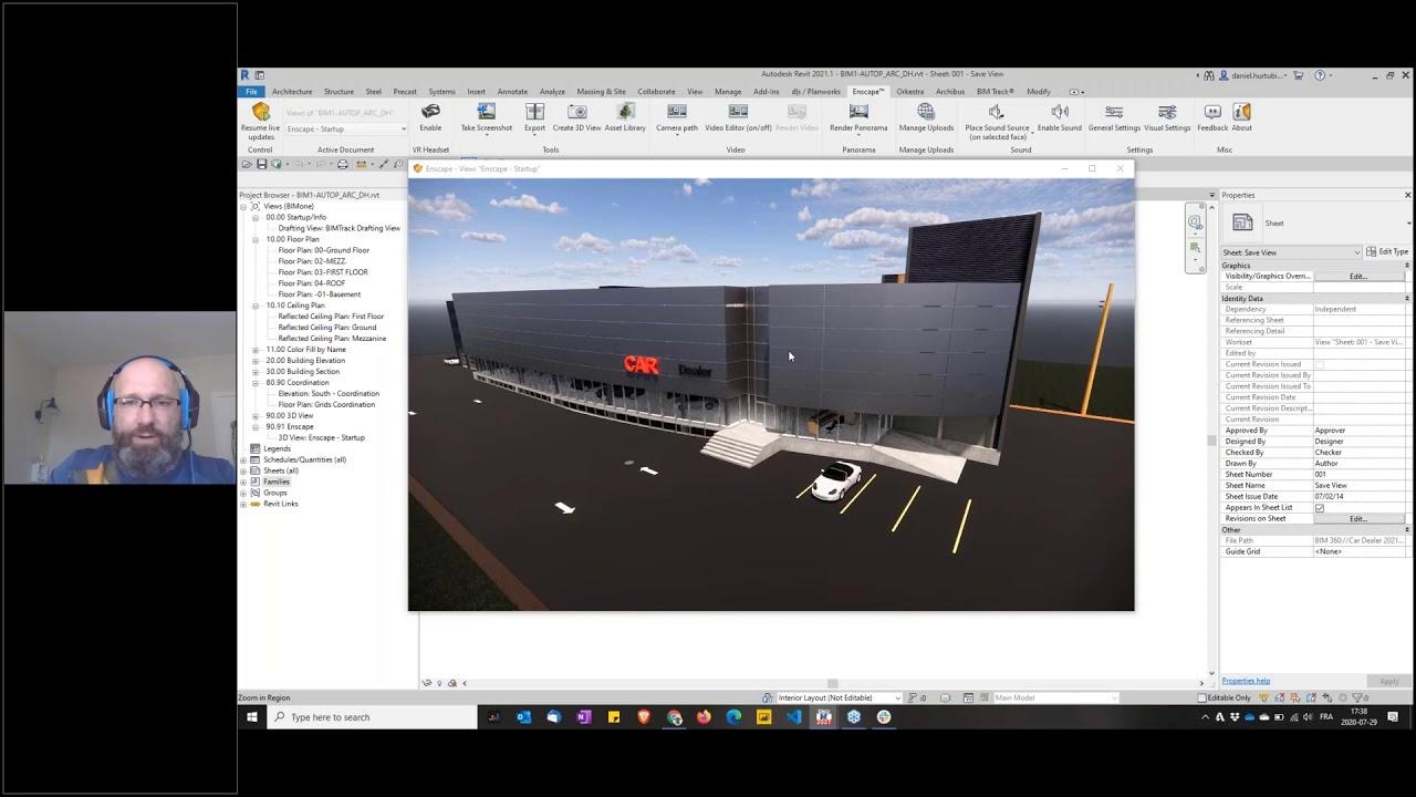 Améliorez votre flux de travail de révision de conception avec Enscape + BIM Track
