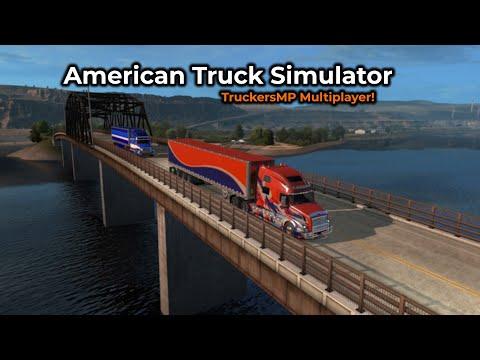American Truck Simulator - TruckersMP -- Livestream 03/08/2019