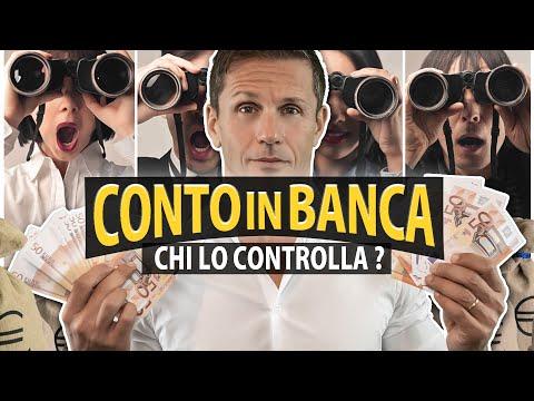 CHI CONTROLLA IL TUO CONTO CORRENTE | avv. Angelo Greco