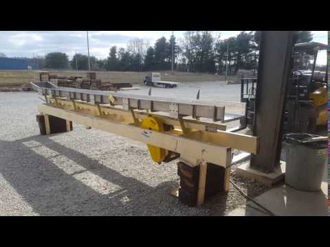 """Used Cardwell Vib-o-vey 18""""W X 20'-10"""" Stainless Steel Vibrating Shaker Conveyor"""