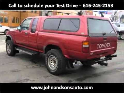 1993 toyota pickup problems online manuals and repair information. Black Bedroom Furniture Sets. Home Design Ideas