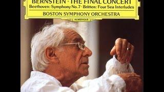 Beethoven: Symphony No. 7 - II. Allegretto / Bernstein · Boston Symphony Orchestra