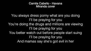 Miranda - Havana Lyrics