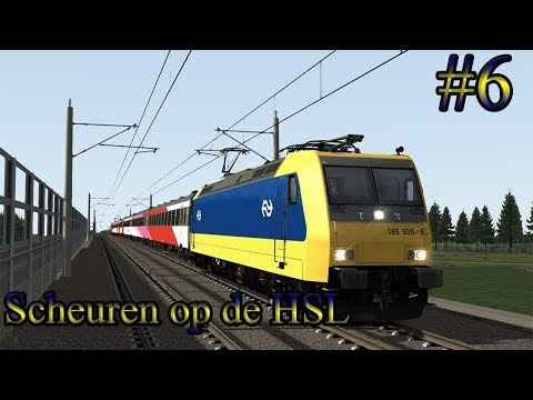 Scheuren over de HSL  Train Simulator 2017 Livestream 6