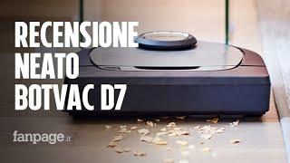 Recensione Neato Botvac D7, il più smart dei robot aspirapolvere ha un software tutto italiano