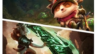 Teemo Ownage - Teemo v/s Riven